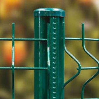 Poteau pour clôture profilé