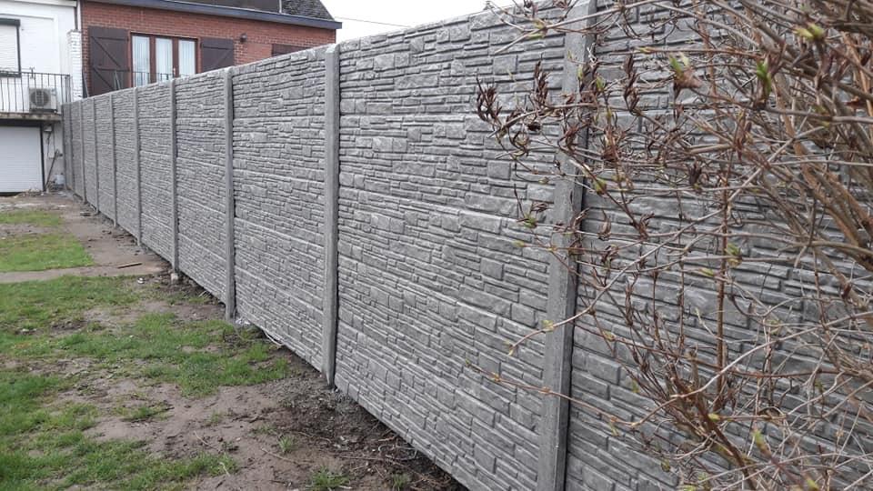 Clôtures Et Panneaux En Béton Brise Vue En Belgique Coden