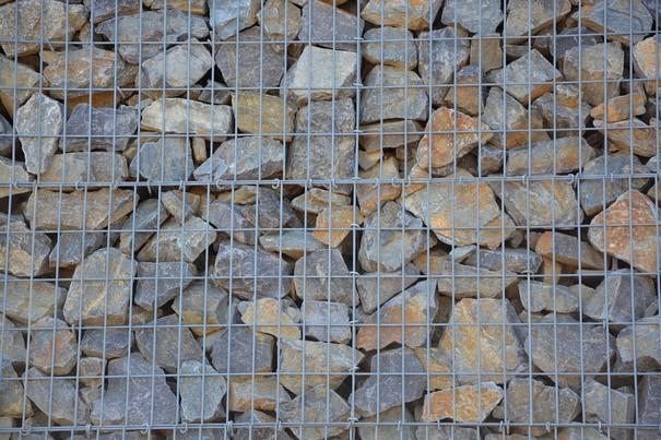 Gabion pierres