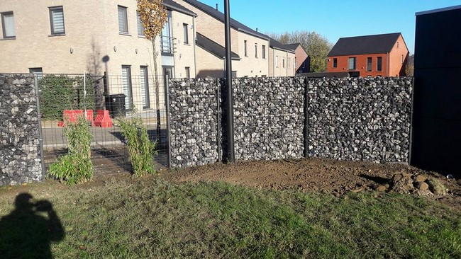 Gabions mur