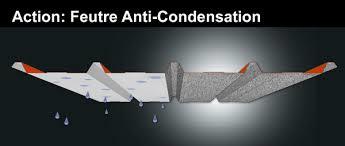 Tole profilée anti-condensation Belgique