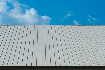 panneau de toiture métallique en tôle profilée