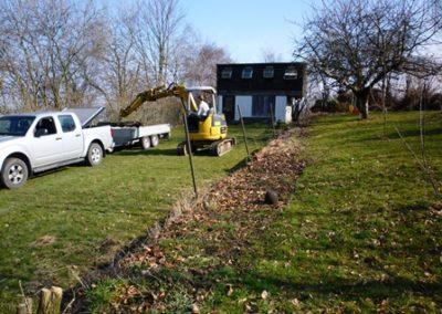 Poteaux de clôture pour aménagement de jardin