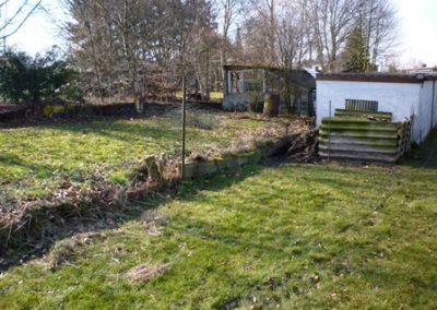 Poteaux de clôture -Aménagement jardin à Grivegnée