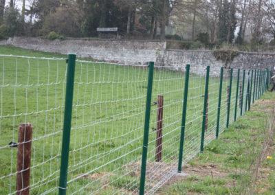 Poteau clôture - Olne