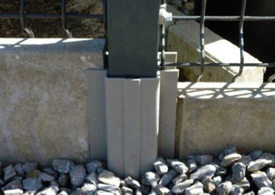 Poteau de clôture - Charleroi