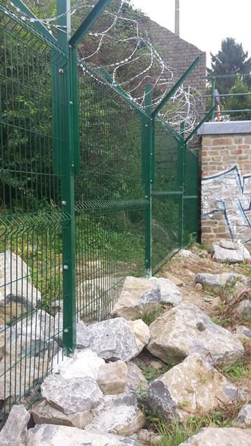 Clôture à Embourg - Poteaux pour clôture