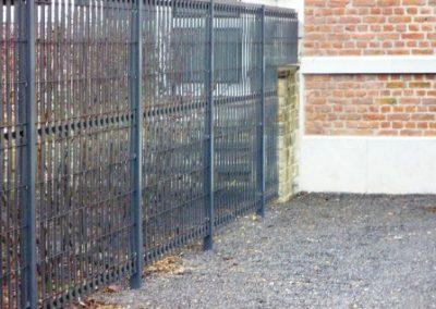 Pose d'une clôture rigide - Aywaille