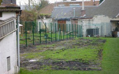 Pose de clôtures en treillis soudé à Grivegnée