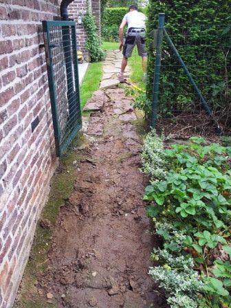 Installation clôture béton - Awans