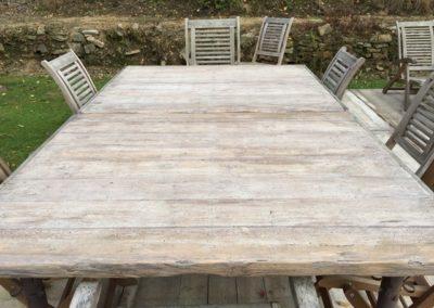 Panneaux Douglas - Table de jardin