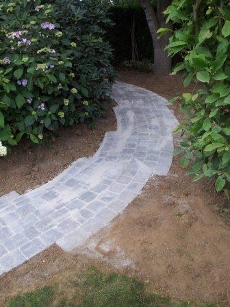 Aménagement jardin - Clôture béton