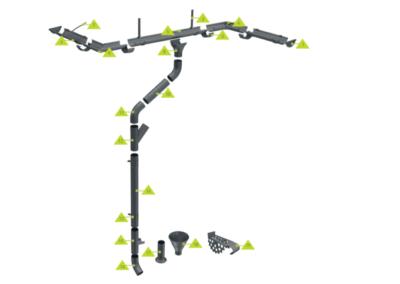 Système pluvial gouttière